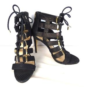 Vince Camuto Gladiator Strappy Heel SZ 8.5